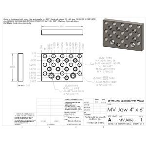 CAD/CAM Services - Part Blueprinting