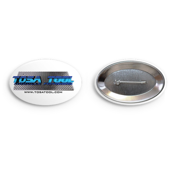 Tosa Tool Oval Button