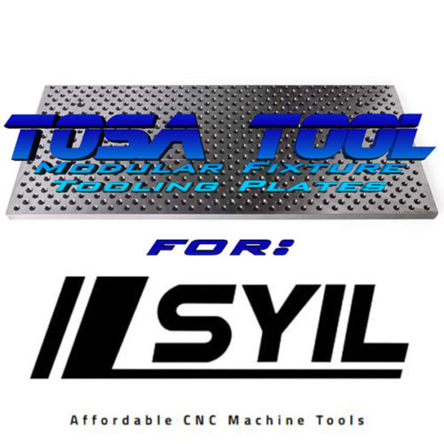 Tosa Tool Modular Fixturing for Syil Machinery
