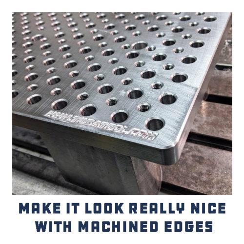 Fully Machined Edges